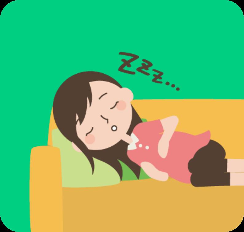 眠い_妊婦