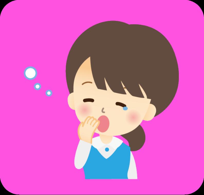 眠い_OL