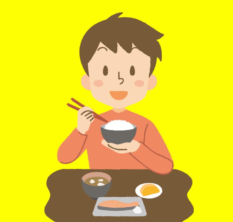 食事_男性