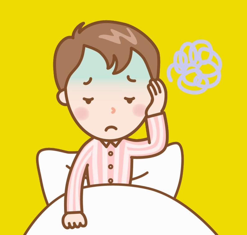 睡眠不足_男性